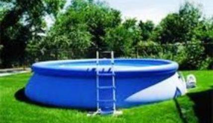 Надувной бассейн для дачи — радость для детей и взрослых